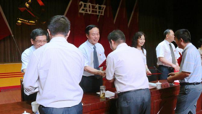 """学校隆重举行庆祝建党96周年暨"""""""