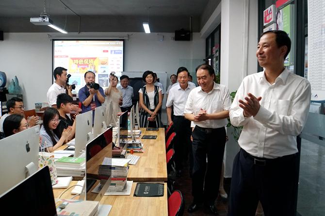 教育部副部长孙尧、河南省副省长徐济超来我